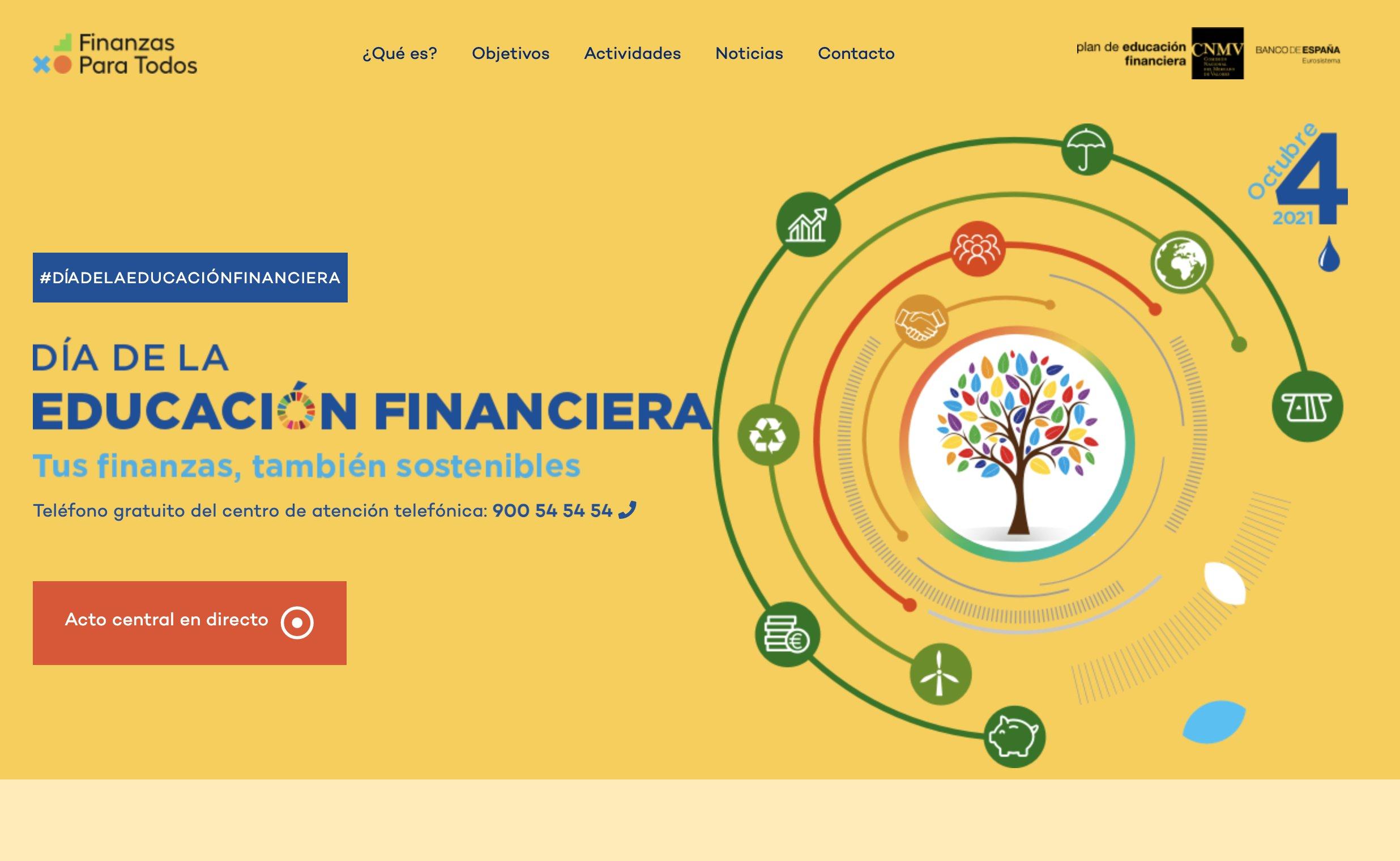 Amplia oferta de actividades para el Día de la Educación Financiera